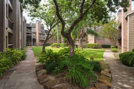 Enclave at Cypress Park | Apartments For Rent Houston, TX | Courtyard