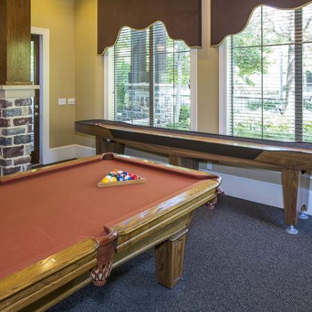 Game Room with Billards   Rock Ridge Apartment Homes Arlington, TX