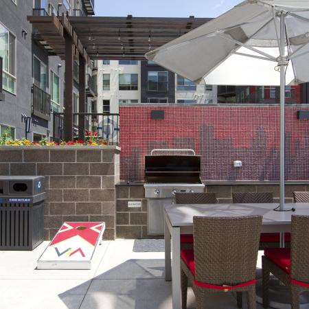 Propane Grilling Stations | Via Apartments | Apartments for Rent in Denver, CO