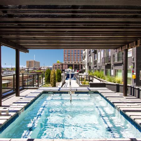 Rooftop Pool | Via Apartments | Apartments for Rent in Denver, CO