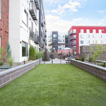 Rooftop Dog Run | Via Apartments | Apartments for Rent in Denver, CO