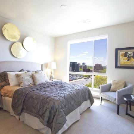 Bedroom | Via Apartments | Apartments for Rent in Denver, CO