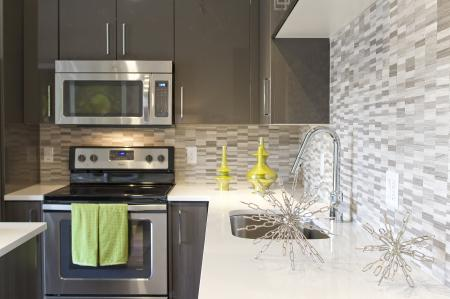 Kitchen Backsplash | Via Apartments | Apartments for Rent in Denver, CO