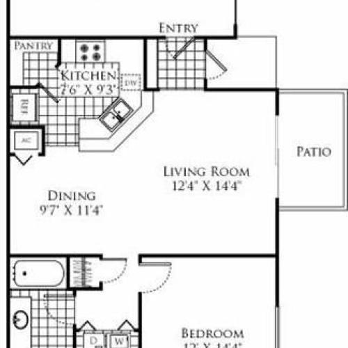 Aventura Apartments: 1 Bed / 1 Bath Apartment In Aventura FL