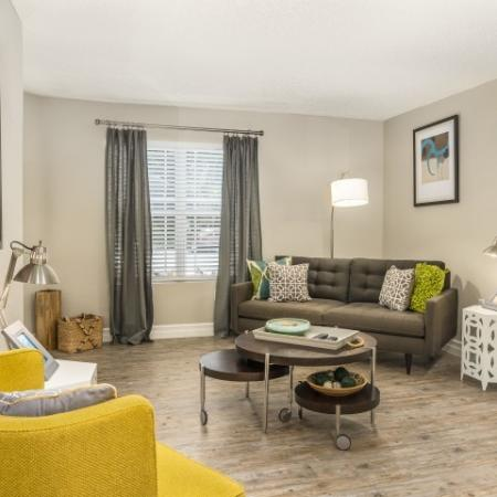 The Glenn-Interior | Living Room with Window