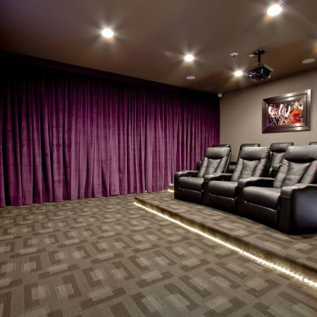 South Blvd Theater Room