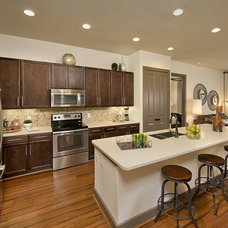 Designer-Inspired Gourmet Kitchens