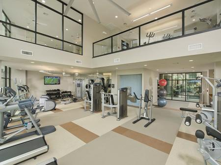 Two-Story Athletic Center w Yoga CenterProfessional Spinning Facility