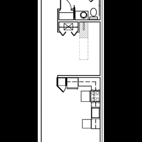 SG 590 (1 Bed 1 Bath)