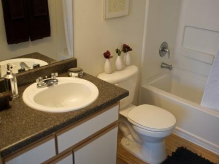 Bathroom at Mirabella Heights in Albuquerque, NM