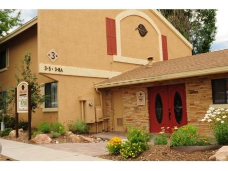 Aspen Leaf Apartments exterior in Flagstaff, AZ