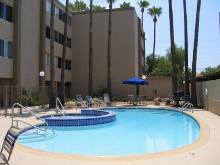 Pool at The Van Buren Luxury Apartments in Tucson, AZ