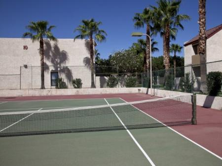 Tennis court at Townhomes On The Park in Phoenix, AZ