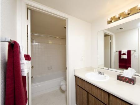 Bathroom at Townhomes On The Park in Phoenix, AZ