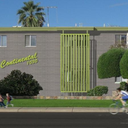 Continental Apartments Phoenix, AZ signage