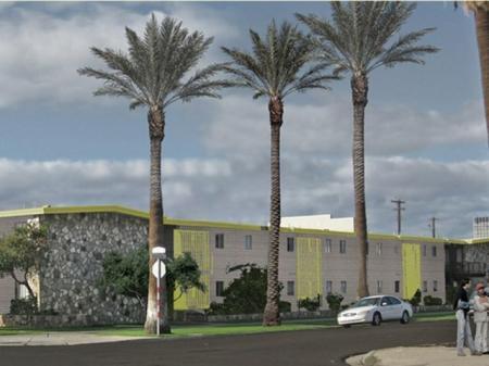 Continental Apartments Phoenix, AZ exterior and landscaping