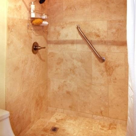 Bathroom at SunVilla Apartments In Mesa, AZ