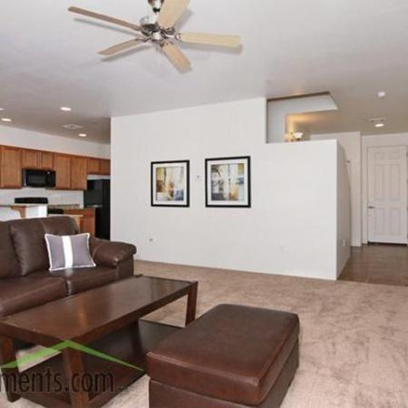 Living room at Coronado Commons Townhomes in Sierra Vista, AZ
