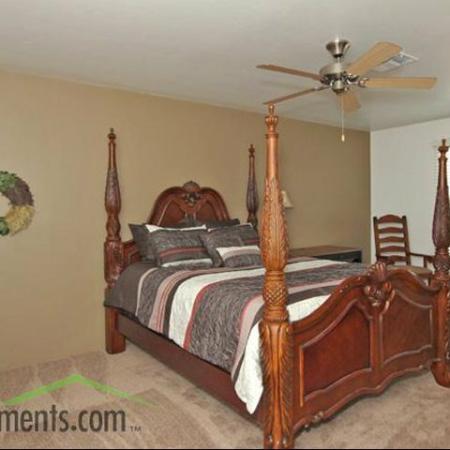 Bedroom at Coronado Commons Townhomes in Sierra Vista, AZ