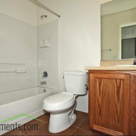 Bathroom at Coronado Commons Townhomes in Sierra Vista, AZ
