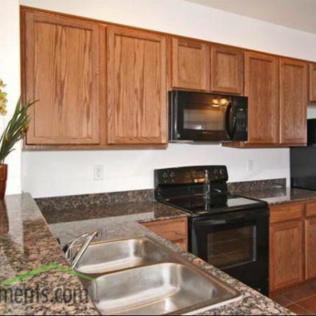 Kitchen at Coronado Commons Townhomes in Sierra Vista, AZ
