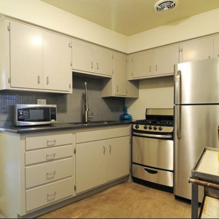 Carol Mary Apartments kitchen in Phoenix, AZ