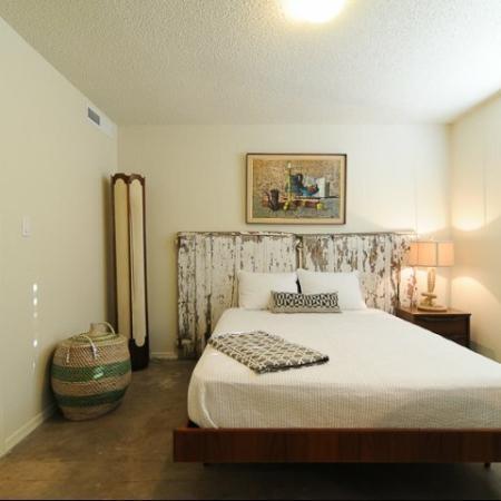 Carol Mary Apartments bedroom in Phoenix, AZ