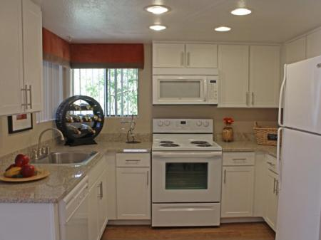 Kitchen at Country Brook Apartments in Chandler, AZ