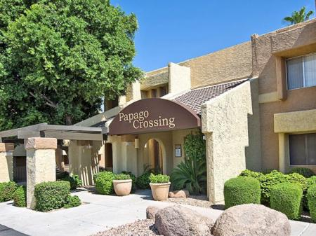 Leasing office at Papago Crossing Apartments in Phoenix, AZ