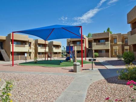 Playground at Papago Crossing Apartments in Phoenix, AZ