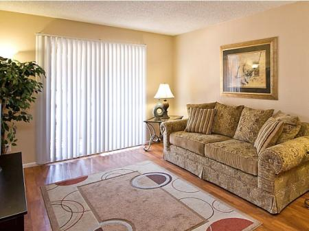 Living roomat Papago Crossing Apartments in Phoenix, AZ