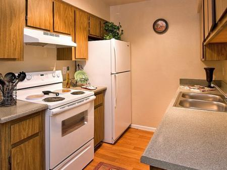 Kitchen at Papago Crossing Apartments in Phoenix, AZ