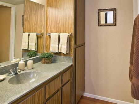 Bathroom at Papago Crossing Apartments in Phoenix, AZ