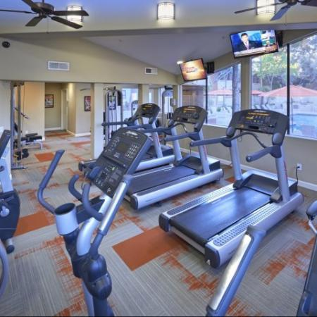 Country Brook Apartments fitness room in Chandler, AZ
