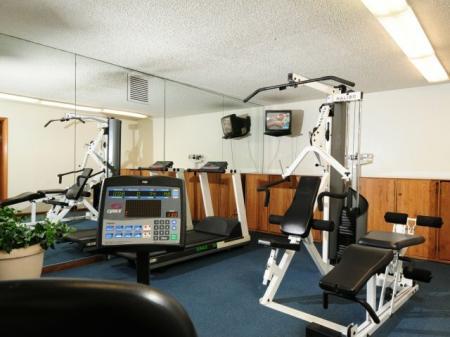 Fitness center at Shorebird Apartments in Mesa, AZ