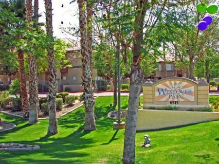 Signage at Westover Parc Apartments in Phoenix, AZ