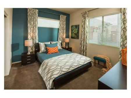 Bedroom at Casitas at San Marcos 1 Apartments in Chandler, AZ