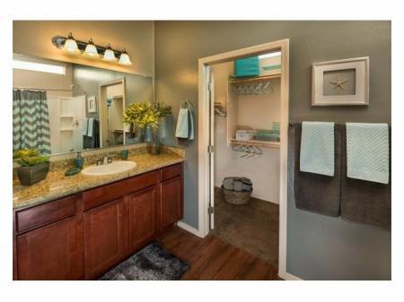 Bathroom at Casitas at San Marcos 1 Apartments in Chandler, AZ
