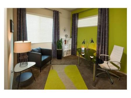 Bedroom or den at Casitas at San Marcos 1 Apartments in Chandler, AZ