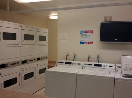 Laundry facility at Pinecliff Village Apartments in Flagstaff, AZ