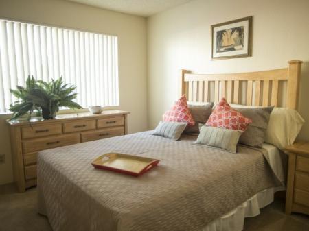 Sunset Landing Apartments Tucson, AZ bedroom