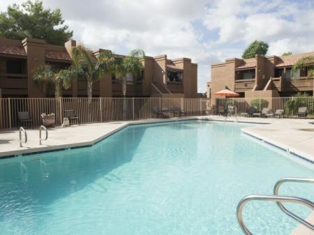 Sunset Landing Apartments Tucson, AZ pool, patioexterior