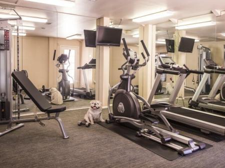 Sunset Landing Apartments Tucson, AZ fitness room