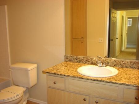 Bathroom at Westover Parc Apartments in Phoenix, AZ