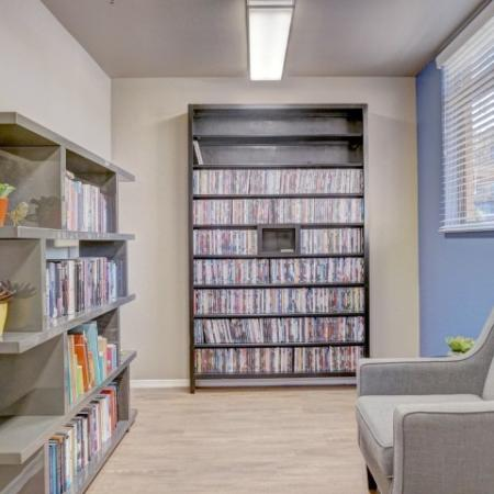 Library at Ridge View Apartments in Fountain Hills, AZ