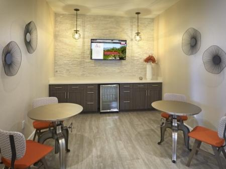 Coffee room at Silverbell Springs Luxury Apartments in Tucson, AZ