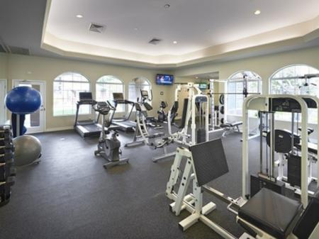 Fitness room at Silverbell Springs Luxury Apartments in Tucson, AZ