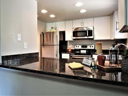 Breakfast bar at Country Brook Apartments in Chandler, AZ