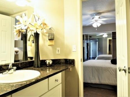 Bathroom at Country Brook Apartments in Chandler, AZ