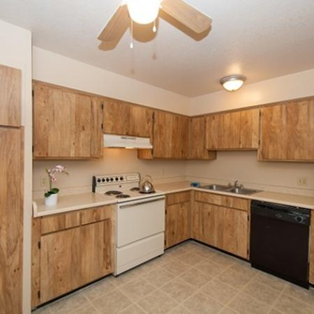 Kitchen at Acacia Gardens Apartments in Tucson, AZ